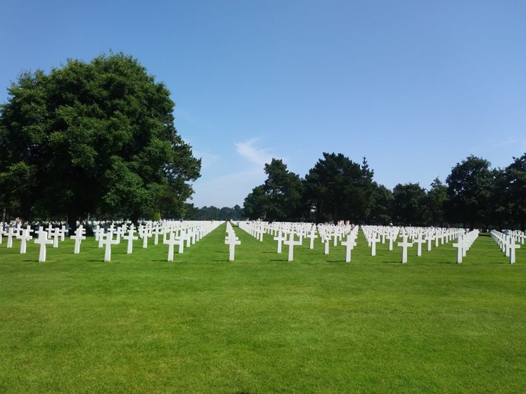 American Cemetery & Memorial in Normandy