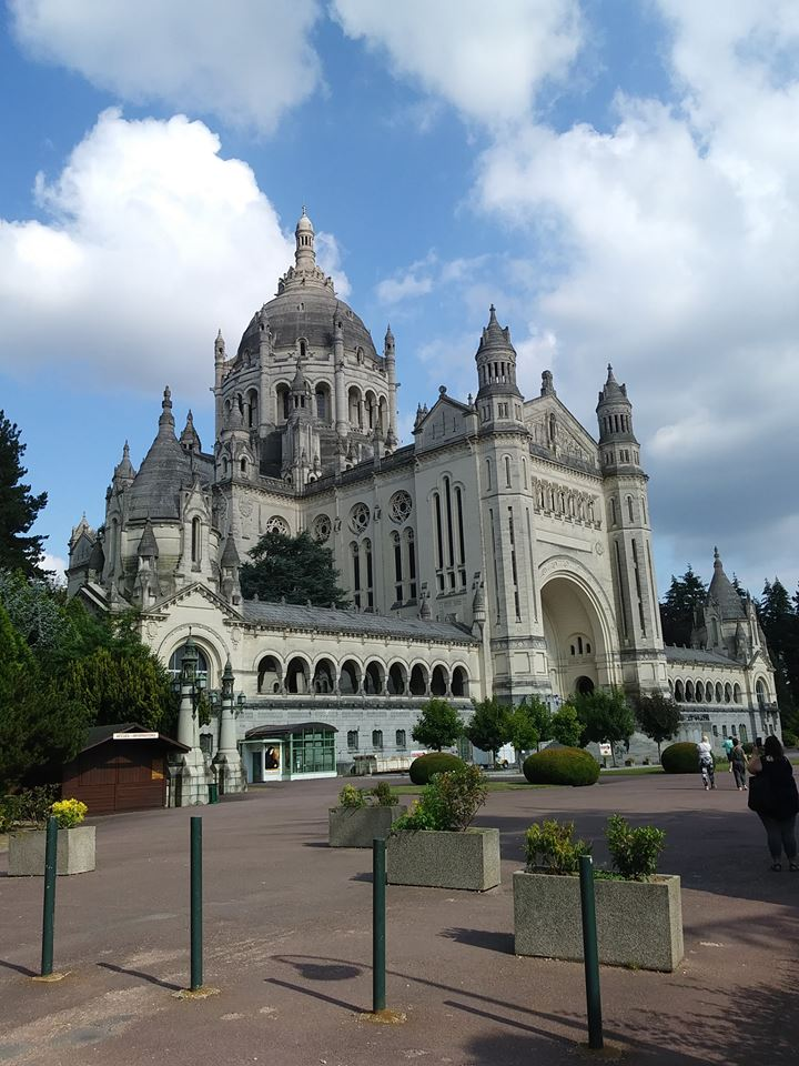 The Basilica of St. Thérèse in Lisieux