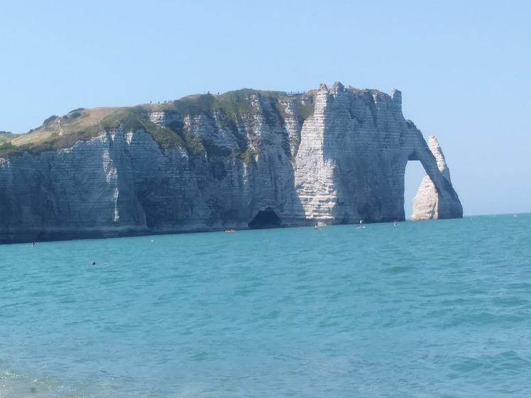 The Cliffs at Étretat
